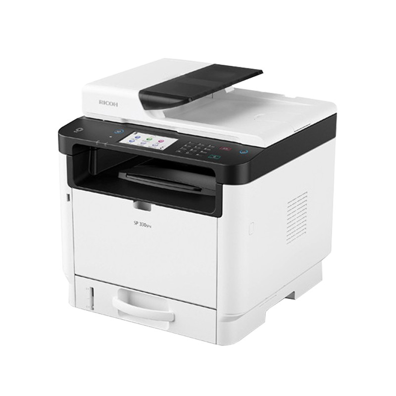 RICOH 理光 SP 330SFN A4黑白雷射複合機|影印、傳真、列印、掃描|適用 SP 330L、SP 330H