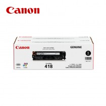 Canon 佳能 CRG418 BK / CRG-418 BKVP 黑色原廠碳粉匣-雙包裝|適用MF8350Cdn / MF8360Cdn / MF8580Cdw / MF729Cdw