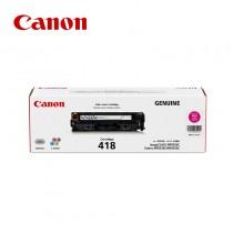 Canon 佳能 CRG418 M / CRG-418 M 紅色原廠碳粉匣 適用MF8350Cdn / MF8360Cdn / MF8580Cdw / MF729Cdw